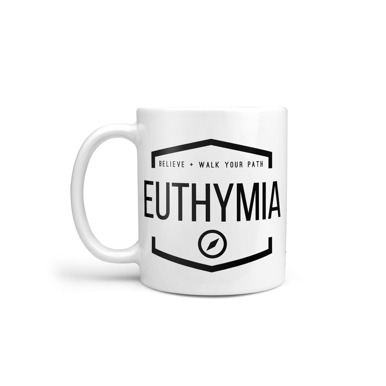 euthymia mug seneca believe trust yourself stoic philosophy